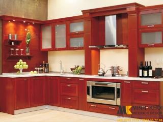 Cách làm sạch vết bẩn với tủ bếp màu trắng | Nội Thất Minh Khôi