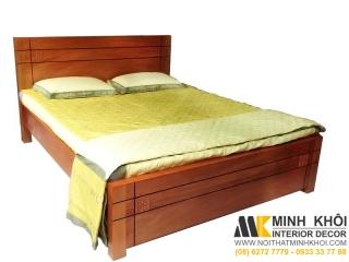 Giường Ngủ Hiện Đại Gỗ Đinh Hương Tự Nhiên 1m6 GN418