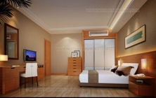 Mẫu Thi Công Nội Thất Phòng Ngủ Khách Sạn TCNTKS002
