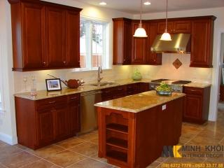 tủ bếp đẹp xinh lung linh cho nhà bếp