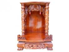 Bàn Thờ Thần Tài Gỗ Xoan Đào 48 x 68cm BTTT306