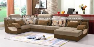 Sofa Chữ U Loại Nhỏ Cao Cấp Cho Phòng Khách