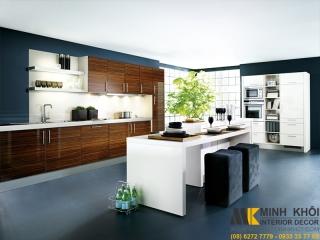 Tủ Bếp Laminate TB4003