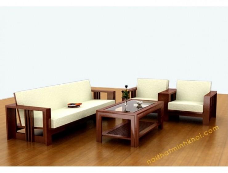 19 Mẫu Ghế Sofa Gỗ Mặt Nệm Hiện đại đẹp Tại Tphcm