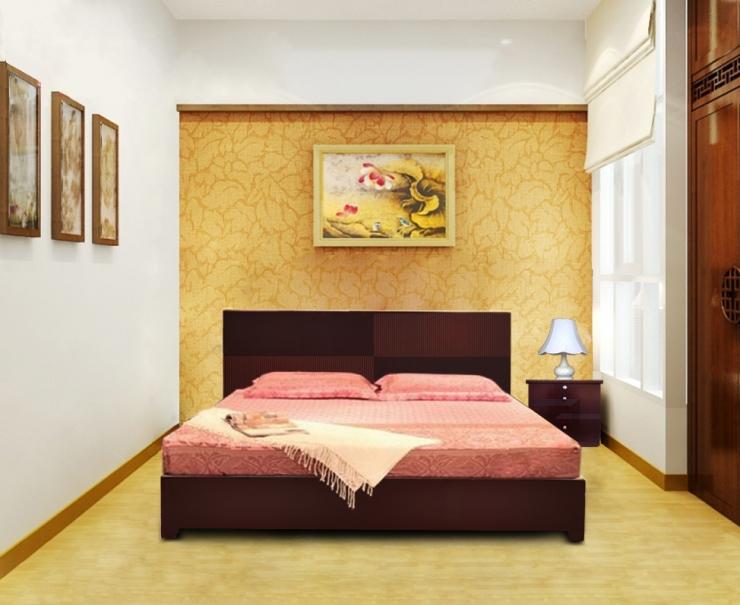 giường ngủ khách sạn