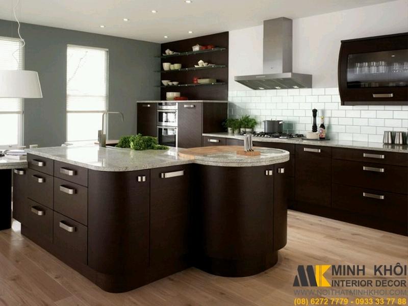 Phong cách thiết kế tủ bếp 2020 và xu hướng