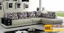 Ghế Sofa Vải Chữ L Trẻ Trung Đẹp Giá Rẻ TPHCM