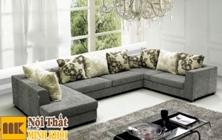 Ghế Sofa Vải Chữ U Để Phòng Khách