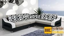 Ghế Sofa Vải Phòng Khách Thiết Kế Chữ L