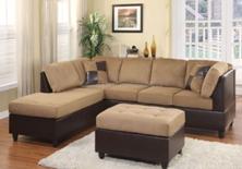 Bộ Sofa L Màu Nâu Brown Đẹp Giá Rẻ Nhất TPHCM
