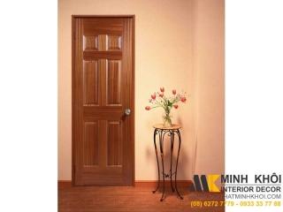 Cửa Gỗ Sồi Tự Nhiên CDG223 | Nội Thất Minh Khôi