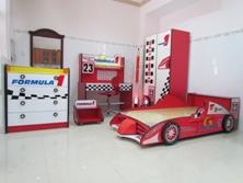 Bộ Phòng Ngủ Trẻ Em Xe Đua F1 BPN021
