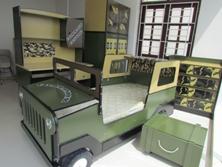 Bộ Phòng Ngủ Trẻ Em Cho Bé Trai Lính Đặc Công BPN024