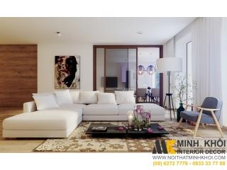 Ghế Sofa Vải Đẹp SF2665 | Nội Thất Minh Khôi