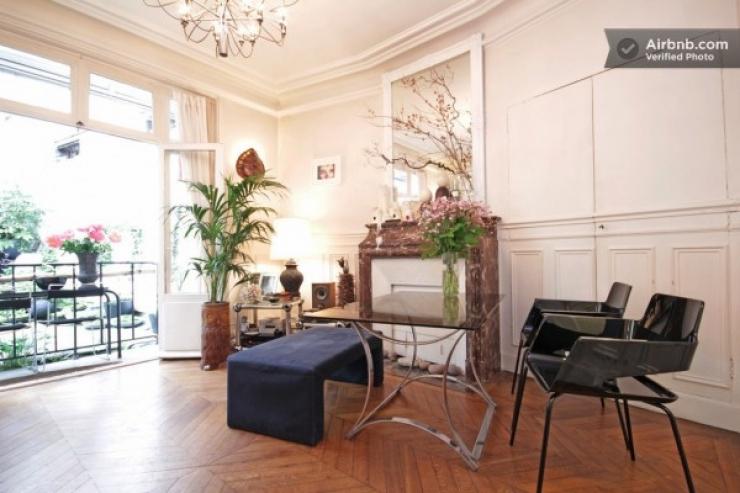 Thiết Kế Nội Thất Căn Hộ Xinh Đẹp Lãng Mạn Paris