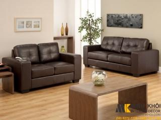 Sofa Da Cổ Điển F3751 | Nội Thất Minh Khôi