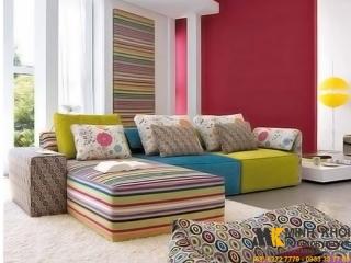Sofa Vải Hiện đại F4054 | Nội Thất Minh Khôi