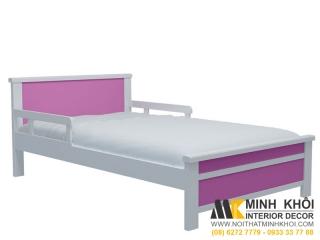 Giường Ngủ Đơn Gỗ Xoan Đào FCH115 | Nội Thất Minh Khôi