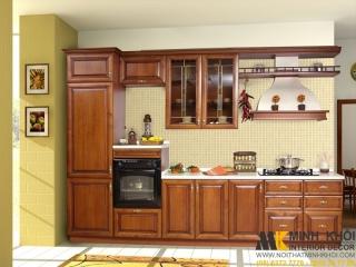 Các mẫu thiết kế tủ bếp đẹp cho nhà nhỏ