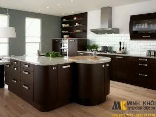 Cách làm đẹp tủ bếp long lanh tuyệt vời | Nội Thất Minh Khôi