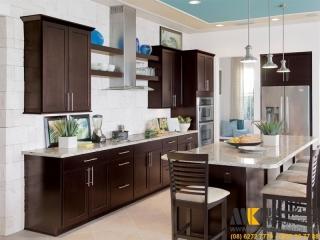 Chọn tủ bếp đẹp cho nhà phố | Nội Thất Minh Khôi