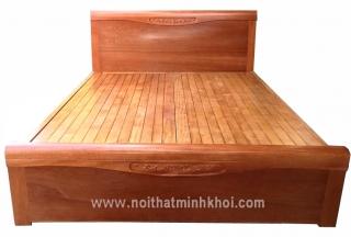 Giường Ngủ Gỗ Xoan Đào Vạt Phản 1M6 GN439