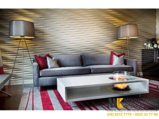 Bàn Trà Sofa Màu Trắng Thiết Kế Đơn Giản | Nội Thất Minh Khôi