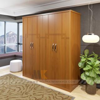 5 ưu điểm vượt trội của tủ quần áo gỗ ép bạn cần phải biết