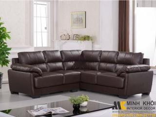 Ghế sofa góc phòng khách hiện đại F076