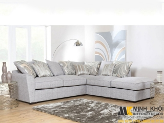 Ghế Sofa Góc Chử L Đẹp Phòng Khách F080