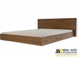 Giường Ngủ Thiết Kế Phẳng Gỗ Sồi 1m6 GN250