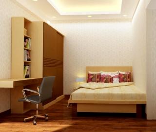 Giường Ngủ Tủ Quần Áo Cho Phòng Ngủ Nhỏ