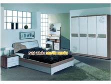 Tủ Đầu Giường Hiện Đại Màu Nâu và Trắng Tân Bình TPHCM
