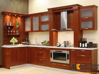 Thiết kế tủ bếp an toàn và tiện dụng