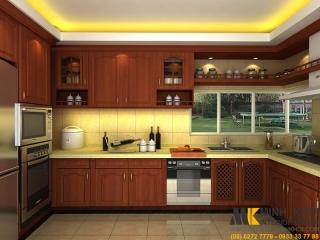 Cách lựa chọn tủ bếp gỗ tự nhiên tốt nhất