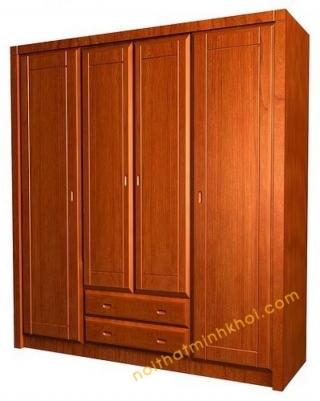 Nên chọn tủ quần áo gỗ tự nhiên hay gỗ công nghiệp   Nội Thất Minh Khôi