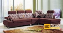 Ghế Sofa Nỉ Đẹp Màu Nâu Đẹp Giá Rẻ TPHCM