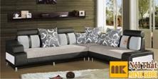 Ghế Sofa Nỉ Phòng Khách Hiện Đại Đẹp