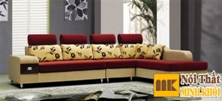 Ghế Sofa Nỉ Vàng Đỏ Ấn Tượng Đẹp Giá Rẻ TPHCM