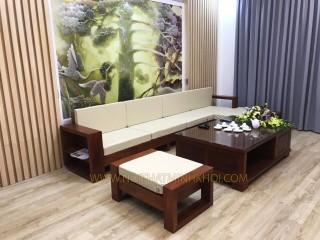 Bộ Sofa Gỗ Sồi Thiết Kế Hiện Đại - SF901