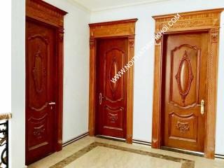 Cửa Gỗ Cao Cấp gỗ Tự Nhiên_mẫu 1
