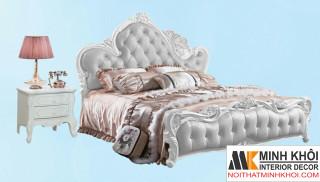 Giường Ngủ Đẹp Phong Cách Tân Cổ Điển-GN1034