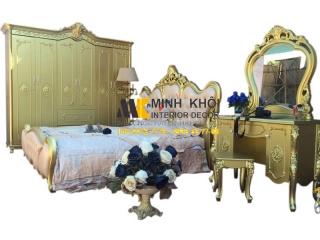 Hoàn thiện nội thất gia đình bằng bộ phòng ngủ cổ điển cao cấp