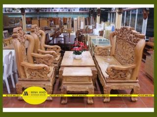Kinh nghiệm lựa chọn bàn ghế gỗ cho phòng khách cho ngày cuối năm
