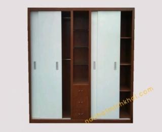 Những mẫu tủ áo thích hợp cho không gian phòng hẹp