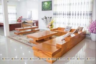 Salon Nguyên Khối Phòng Khách Sang Trọng
