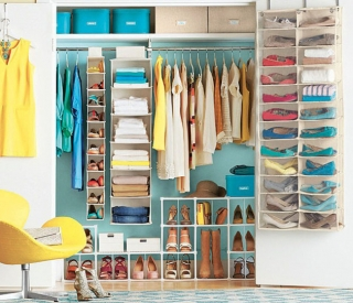 Sắp xếp tủ quần áo như thế nào để bạn tiện nghi nhất