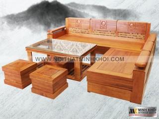 Sofa Gỗ Thiết Kế Phong Cách Hiện Đại SF900
