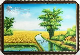 Thế Giới Tranh Sơn Dầu, xưởng vẽ tranh sơn dầu uy tín tại TPHCM