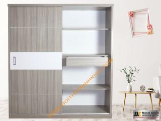 Tủ Quần Áo Đẹp Cửa Lùa Gỗ MFC - TA905